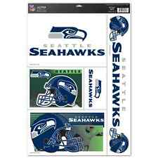 """SEATTLE SEAHAWKS 11""""X17"""" ULTRA DECAL SHEET BRAND NEW FREE SHIPPING"""