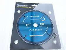 "1PC 6-1/4""(165mm) Tungsten Tipped Circular Saw Blade 40 TEETH TCT Wood Cutting"