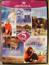 Hallmark Channel Five Movie Pack (DVD, 2015) Angel in the Family/Blue River +3