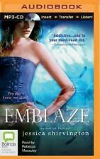 Emblaze: Go 3 Of Violet Eden Series By Jessica Shirvington- AUDIO On MP3 -CD