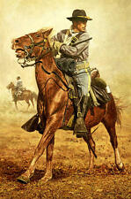 """""""Help on the Way"""" Don Stivers Limited Edition Giclee Print - US Cavalry"""