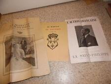 1931..Mariage du dauphin.Action française.royalisme.