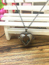 Charm Perfume Fragrance Essential Oil Aromatherapy Diffuser Locket Necklace GZB2
