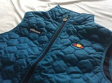 Ellesse Heritage Body Warmer Gillet Ski Retro Vintage Sport Medium