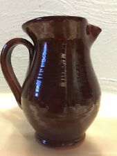 "Old Sturbridge Village Pottery 5 1/4"" Pitcher"