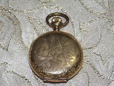 Ladies Beautiful Vintage  PHILADELPHIA 20 Year Gold Filled Pocket Watch Case