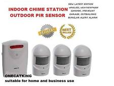 A9 3pir1ch WIRELESS WEATHERPROOF GARDEN,DRIVEWAY,GARAGE,BURGLAR OR VISITOR ALARM