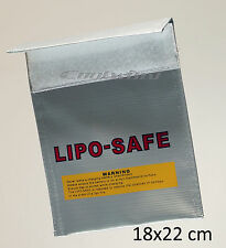 RC Lipo Battery Lipo Safe Guard Bag  18x22cm Charge Sack