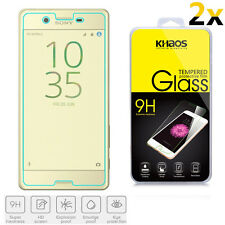 2x KHAOS Ballistic HD Tempered Glass Screen Protector For Sony Xperia X 5.0 inch