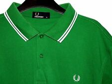 Da Uomo Fred Perry Twin Tipped Polo T-shirt m1200 Extra Large XL