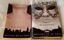 Blue Bloods #1 and Masquerade #2 by Melissa de la Cruz Vampire Elites