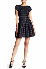 Ted Baker Cayley Sparkle Fit and Flare  Dress  size 8
