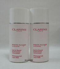 Clarins White Plus HP Whitening Soft Aqua-Milk ~ 50ml x 2 = 100ml