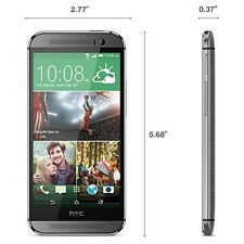 HTC ONE M8 32GB LTE ANDROID - T-MOBILE (GRAY) EXCELLENT CONDITION SMARTPHONE