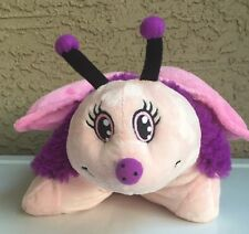 New Pillow Pets Pee-wee Pink Purple Fluttery Butterfly 2011 Edition Plush Toy