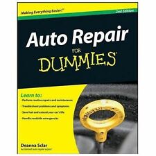 Auto Repair for Dummies® by Deanna Sclar (2008, Paperback)