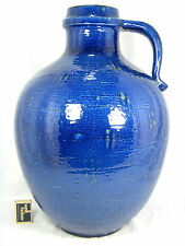 Beautiful glazed 70´s design Carstens Atelier Keramik floor vase C - 238 - 47