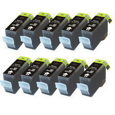 10 BLACK Printer Ink for PGI-225 BK Canon MX892 iP4920 iX6520 MX882 MG5220
