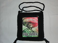 NEW ETHNIC ZAPATA NATIVE ART MORRAL BAG SHOULDER TOTE PURSE INDIAN EZLN MEXICO