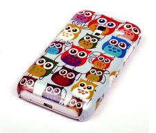 Case f Samsung Galaxy Ace 2 i8160 Schutzhülle Tasche Cover Owl kleine Eule
