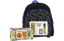 Funky David & Goliath Childrens School Bag Ruck Sack With Pencil Case - NEW