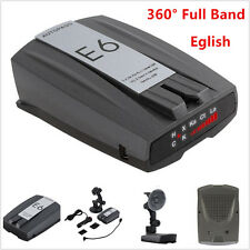 Car Full Band GPS Speed E6 Anti-Radar Detector Camera Scanning Voice Alert Laser