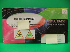 Star Trek Deep Space Nine 1996 VHS Charter Video Club Subscriber Mail Pack EX-NM