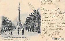 SPAIN - Barcelona - Monumento de Colon - Hauser y Menet 1901