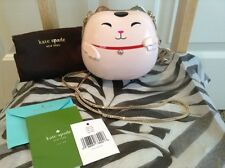 NEW KATE SPADE LUCKY CAT HELLO TOKYO COLLECTION IN PINK CLUTCH/SHOULDER-RARE!!!