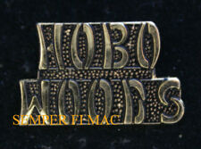 HOBO WOODS VIETNAM VET GROUND ZERO US ARMY MARINES NAVY AIR FORCE HAT PIN WOW
