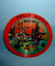 """1948 POLLY WOLLY DOODLE 78 Record~VOCO~JOHNNY DO GOOD~7""""Acetate/Dubplate/Plastic"""