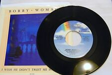 BOBBY WOMACK GOT TO BE WITH YOU TONIGHT 45 RPM VG