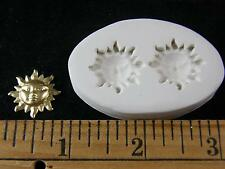 Sun Face (Small) Polymer Clay Mold 2 in 1 (#MD1444)