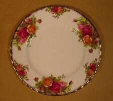"7"" Salad /Bread and Butter Plates Royal Albert Old Country Roses Made in England"