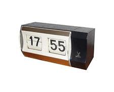 rare réveil  horloge pendule à guichets  JAZ Des Années  60's /70's