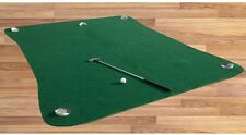 Golf Putting Green Mat System Home Practice Swing Training 6'x8' Indoor Outdoor