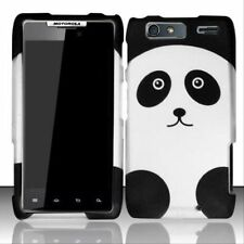 Design Rubberized Hard Case for Motorola Droid RAZR Maxx XT913 - Panda Bear
