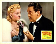 AWESOME SIDNEY TOLER, CHARLIE CHAN MURDER OVER NEW YORK, LOBBY CARD PHOTO  8X10