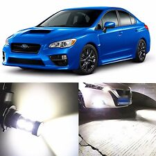 Alla Lighting Fog Light H11 Super White LED Bulbs for 15~17 Subaru WRX/ WRX STI