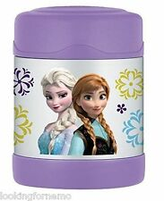 Thermos 10 Ounce Funtainer Food Jar, Disney Frozen, Stainless Steel NEW