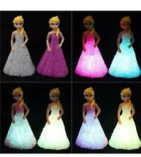 Elsa  Doll LED Colour Changing Night Light SALE