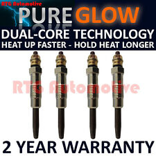 4X FOR ROVER 200 218 400 418 1.8 1.9 D TD DIESEL HEATER GLOW PLUGS GP92431