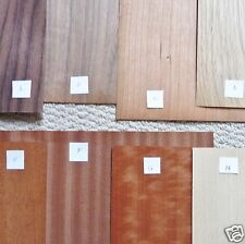 Assorted Hardwood Veneer for Antique Clock Repair Parts Assortment A