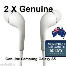 2 X Genuine Samsung Galaxy S5 Handsfree Headphones Earphones fits S4 S3 Note 3 2