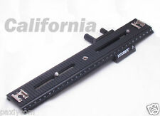 "1/4"" Screw LP-03 Fotomate 250mm 2 Way Macro Focusing Rail Slider Movable Range"