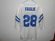 Vintage Marshall Faulk Indianapolis Colts Starter Jersey XL 52