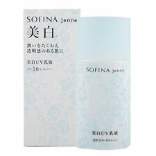 Sofina Jenne Whitening UV Cut Emulsion SP Moisturizer SPF 50+ PA +++ 30ml NIB -R