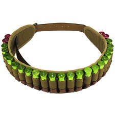 Tourbon Military Bandolier Cartridges Belt Ammo Holder Shotgun Gun Vintage 12GA