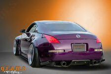NISSAN 350z diffusore posteriore/Undertray con staffe incluse per RACING AERO v4