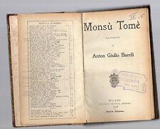 monsu' tome' - racconto di anton giulio barrilli - 1908
